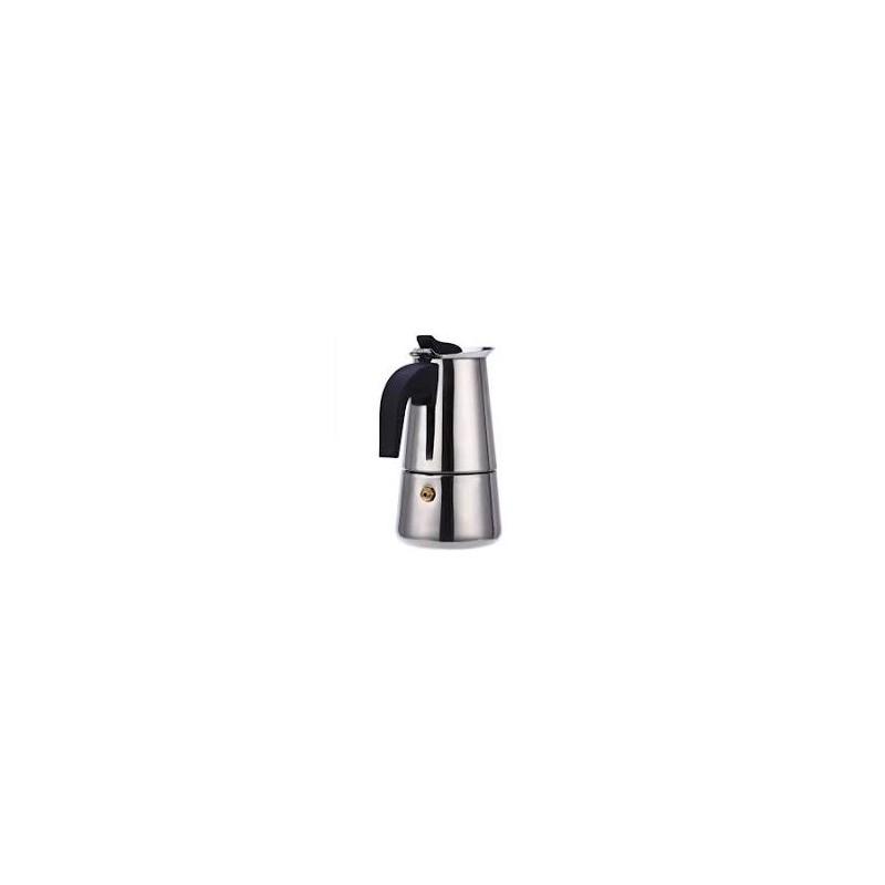 Cafetera italiana Orework en acero inoxidable apta para inducción