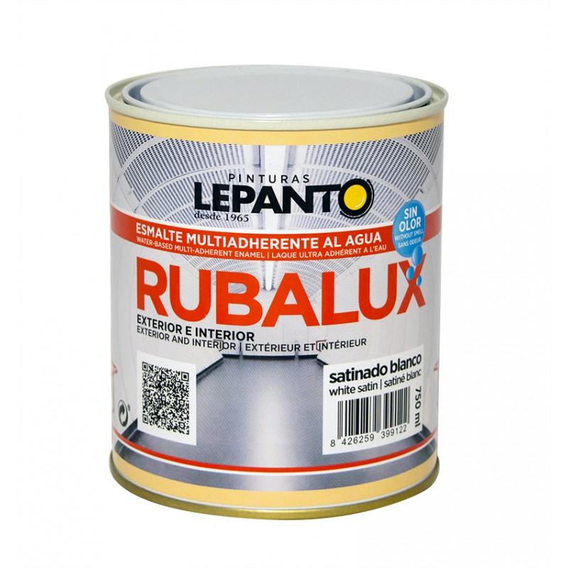 Esmalte al agua satinado RUBALUX Multiadherente