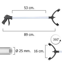 Pinza coge-objetos de 89 cm