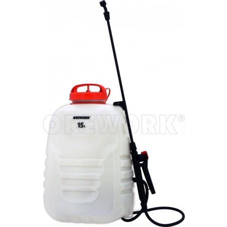 Pulverizador - sulfatadora de mochila eléctrico OREWORK N2 15 L