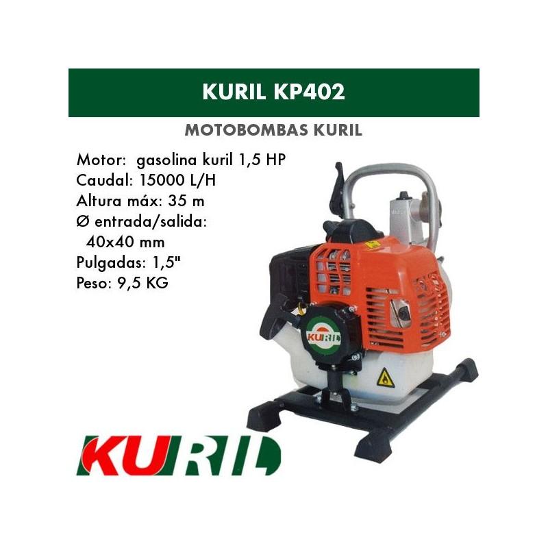 Motobomba gasolina uril  KP402