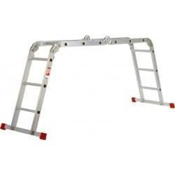 Escalera multi aluminio