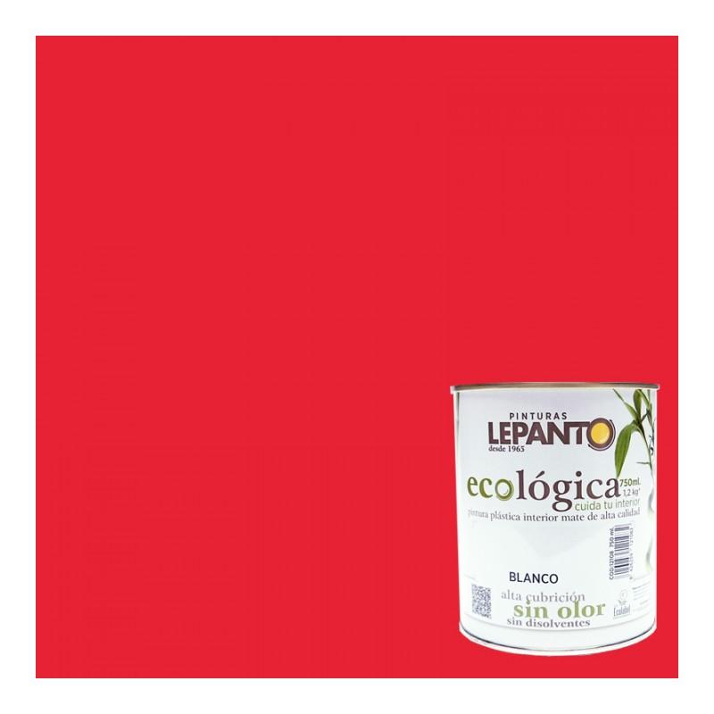 Pintura ecológica E252 Rojo Fuego