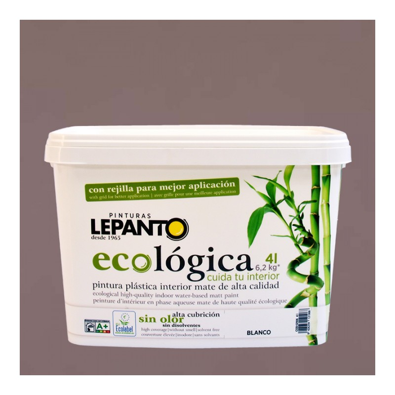 Pintura ecológica E264 Cuarzo Ahumado